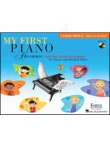 My First Piano Adventure - Book/CD set