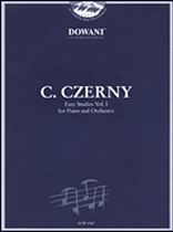 Czerny: Easy Studies - Volume 1 for Piano and Orchestra - Easy - Book/CD set