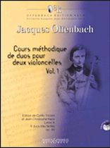 Jacques Offenbach - Cours m?thodique de duos - Volume 1 - Book/CD set