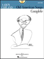 Aaron Copland - Old American Songs Complete - Low Voice - Low Voice - Book/CD set