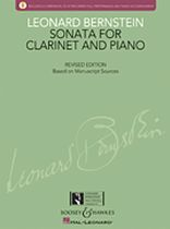 Leonard Bernstein - Sonata for Clarinet and Piano - with a CD of Recorded Performance and Accompaniment - Book/CD set