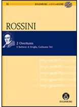 Gioacchino Rossini - 2 Overtures: The Barber of Seville and William Tell - Study Score / CD - Eulenburg Audio and Score - Book/CD set