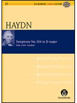 Franz Joseph Haydn - Symphony No. 104,  D Major, Salomon Hob. I: 104 London No. 7 - Study Score / CD - Eulenburg Audio and Score - Book/CD set