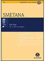Bedrich Smetana - The Moldau (Vltava My Fatherland) No. 2 Symphonic Poem - Study Score / CD - Eulenburg Audio and Score - Book/CD set