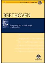 Ludwig Van Beethoven - Symphony No. 6, F Major, Op. 68, Pastorale - Study Score / CD - Eulenburg Audio and Score - Book/CD set