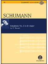 Robert Schumann - Symphony No. 3 Eb Major Op. 97 'Rhenish' - Study Score / CD - Eulenburg Audio and Score - Book/CD set