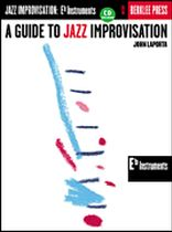 A Guide To Jazz Improvisation - Book/CD set