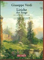 Giuseppe Verdi - Art Songs (Liriche) for Voice and Piano - BK/2CDS - Book/CD set