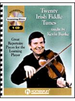 Kevin Burke - Twenty Irish Fiddle Tunes - Book/CD set