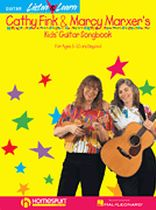 Cathy Fink & Marcy Marxer's Kids' Guitar Songbook - Book/CD set