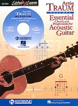 Artie Traum - Essential Chords and Progressions for Acoustic Guitar - Book/CD set