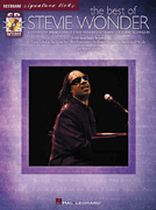 Stevie Wonder - The Best of Stevie Wonder - A Step-By-Step Breakdown of Stevie Wonder's Keyboard Styles and Techniques - Book/CD set