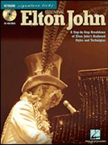 John Eaton - Essential Elton John - A Step-By-Step Breakdown of Elton John's Keyboard Styles and Techniques - Book/CD set