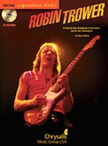 Robin Trower - Robin Trower - A Step-By-Step Breakdown of His Guitar Styles and Techniques - Book/CD set