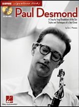 Paul Desmond - Paul Desmond - A Step-By-Step Breakdown of the Sax Styles and Techniques of a Jazz Great - Book/CD set