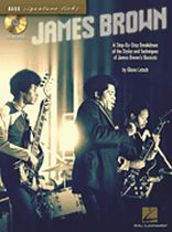 James Brown - A Stey-By-Step Breakdown of the Styles and Techniques of James Brown's Bassists - Book/CD set