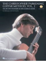 Christopher Parkening - The Christopher Parkening Guitar Method - Volume 2 - Intermediate To Upper-Intermediate Level Book/CD Pack - Book/CD set