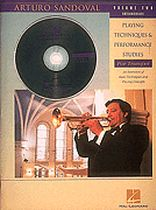 Arturo Sandoval - Arturo Sandoval - Playing Techniques & Performance Studies for Trumpet - Volume 2 (Intermediate) - Book/CD set