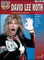 David Lee Roth - Guitar Play-Along Volume 27 - Book/CD set