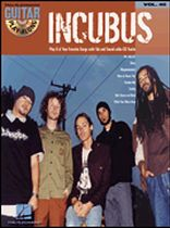 Incubus - Incubus - Guitar Play-Along Volume 40 - Book/CD set