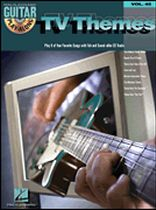 TV Themes - Guitar Play-Along Volume 45