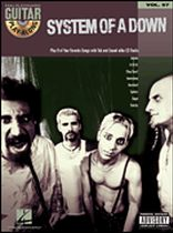 System of a Down Guitar Play-Along Series: Volume 57 - Book/CD set