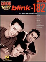 Blink 182 - Guitar Play-Along Volume 58 - Book/CD set