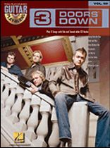 3 Doors Down - 3 Doors Down - Guitar Play-Along Volume 60 - Book/CD set