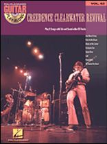 Creedence Clearwater Revival - Guitar Play-Along Volume 63 - Creedence Clearwater Revival - Book/CD set