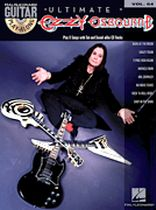 Ozzy Osbourne - Guitar Play-Along Volume 64 - Book/CD set