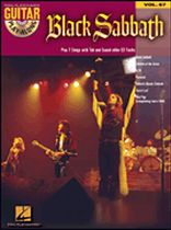 Black Sabbath - Guitar Play-Along Volume 67 - Black Sabbath - Book/CD set