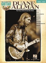 Duane Allman - Duane Allman - Guitar Play-Along Volume 104 - Book/CD set
