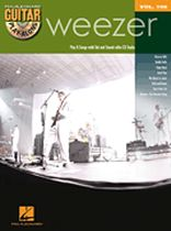 Weezer - Weezer - Guitar Play-Along Volume 106 - Book/CD set