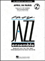 Count Basie - April In Paris - Score and Parts - Book/CD set