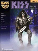 Kiss - Kiss - Bass Play-Along Volume 27 - Book/CD set