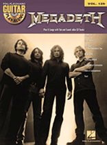 Megadeth - Megadeth - Guitar Play-Along Volume 129 - Guitar Play-Along Volume 129 - Book/CD set