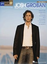 Josh Groban - Josh Groban - Pro Vocal Series - Volume 33 - Book/CD set