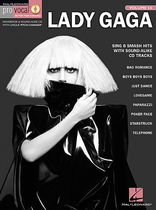Stefani Germanotta - Lady Gaga - Pro Vocal Women's Edition Volume 54 - Book/CD set