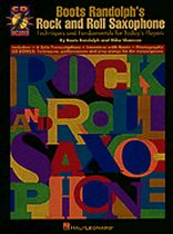 Boots Randolph's Rock & Roll Saxophone - Book/CD set