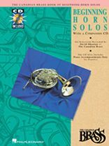 Canadian Brass - Canadian Brass Book of Beginning Horn Solos - Book/CD set