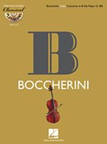 Luigi Boccherini - Boccherini: Cello Concerto In B-Flat Major, G482 - Classical Play-Along Volume 16 - Book/CD set