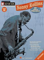 Sonny Rollins - Sonny Rollins - Jazz Play-Along Series Volume 33 - Book/CD set
