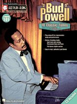 Bud Powell - Bud Powell - Jazz Play-Along Volume 101 - For Bb, Eb, C and Bass Clef instruments - Book/CD set