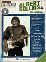 Albert Collins - Albert Collins - Blues Play-Along Volume 9 - Book/CD set