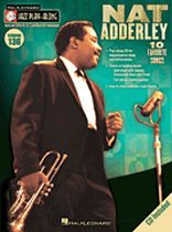 Nat Adderley - Softcover with CD - Jazz Play-Along Volume 136 - Book/CD set