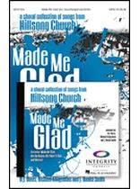 Hillsong - Made Me Glad - Preview CD pak - A Choral Collection From Hillsong Church - Book/CD set