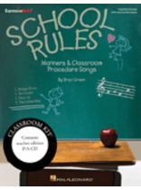Brad Green - School Rules - Classroom Kit - Manners and Classroom Procedure Songs - Book/CD set
