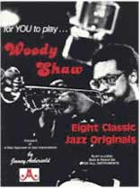 Woody Shaw - Aebersold Volume 09 :Woody Shaw Book/CD set