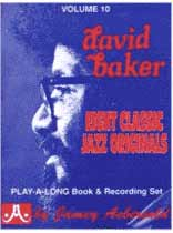 David N. Baker - Aebersold Volume 10 :David Baker Book/CD set