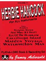 Herbie Hancock - Aebersold Volume 11:Herbie Hancock Book/CD set